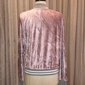 ASOS Jackets & Coats - Asos Velvet Bomber Jacket